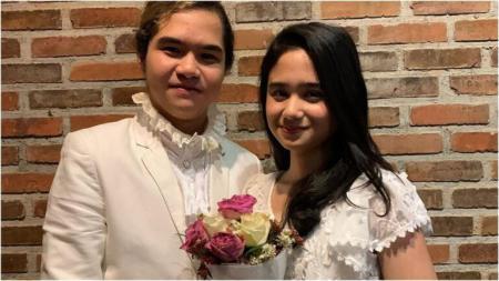 Pakai Baju Pengantin, Anak Ahmad Dhani Menikah?
