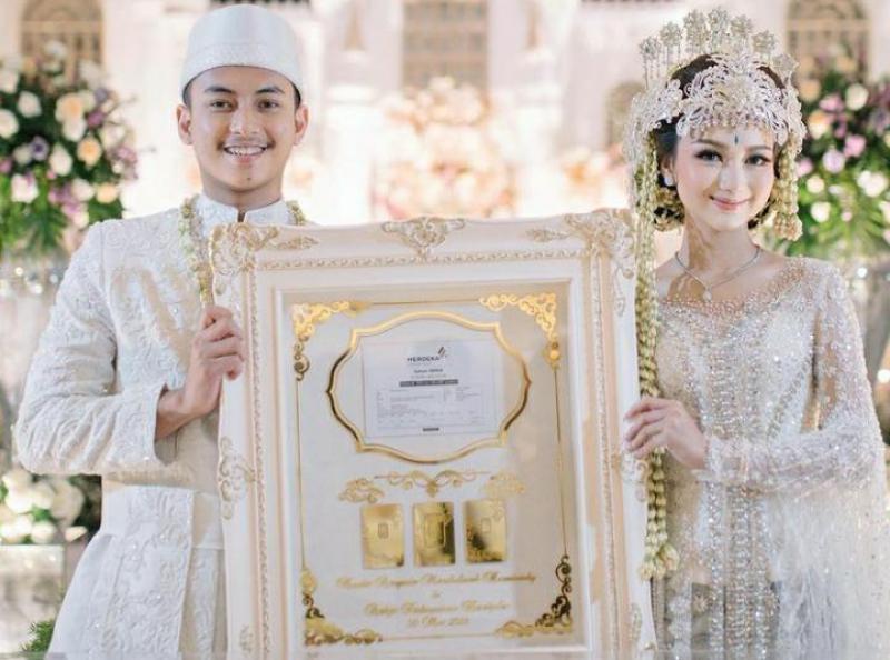 Potret Beauty Vlogger Nanda Arsynta yang diberi mahar saham 305 lot pada pernikahannya